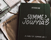 Summer Journal - Scrapbook Fonts