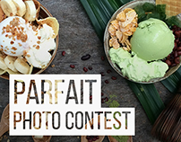 WannaWaffle Parfait Photo Contest Poster