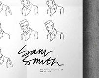 Sam Smith Gig Poster