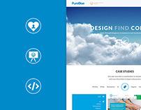PureBlue Website Redesign