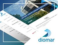 Diomar - website.