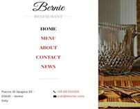 Bernie - Bootstrap Restaurant Template