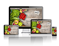 Webdesign for BIO food shop - proposal