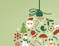 Creation of a New Year's banner for the site http://ww