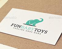 Fun Baby Toys Logo Design Template