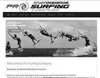 Web Content Edition: Kitesurf Gran Canaria