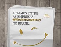 Anúncio Karsten - As empresas mais admiradas no Brasil