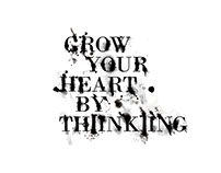 Advertising Campaign - Grow Your Heart By Thinking
