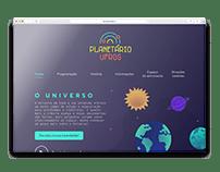 UX/UI Design: Planetário UFRGS