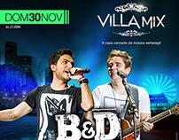 Villa Mix Goiânia (Flyers)