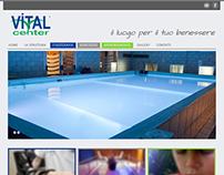 Website for Medical and Wellness Center: Vital Center