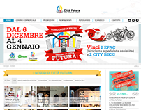 Website for shopping center: Città Futura