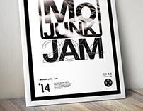 Zy'Mo Junk Jam 2014 - Poster