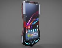 Sony Furai Smartphone concept