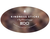 Kindness Sticks Holiday Campaign