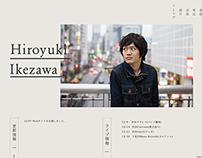 Hiroyuki Ikezawa | official site