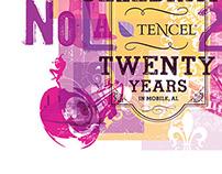 Tencel 20th celebration poster