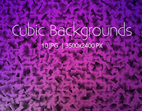 Abstract Cubic Backgrounds