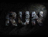 Jurassic world typographic fan art