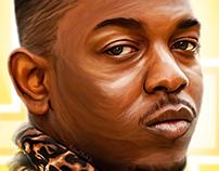 King Kendrick - digital painting