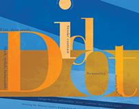 Didot Type Poster