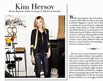 Kim Hersov Interview
