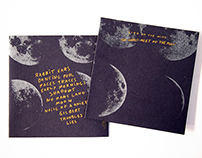Bird on the Wire — CD sleeve, phosphorescent silkscreen