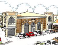 Local Shopping Center Concept