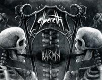ELBERETH - KARMA CD packaging design
