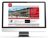 dec.com.tr - DEC Elektromekanik Web Sitesi Yazılımı