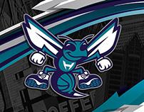charlotte hornets / arena branding / fan shop