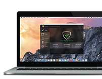 Re-designing McAfee Internet Security for Mac Users