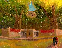 Artist Brochure for Ed Sandoval