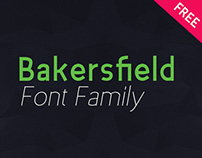 Bakersfield - Font Family (free)