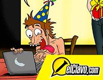 Revista EL CLAVO: Viñetas