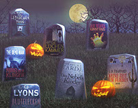 Kindle Special Offer halloween ad