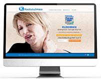 kastutulmasi.com web sitesi arayüz tasarım ve yazılımı