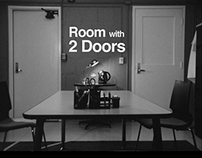 Room with two doors