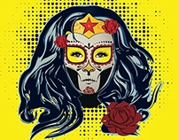 Super Heroe-Catrinas