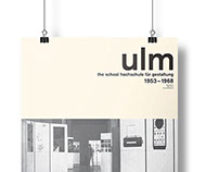 Landmark Poster: Ulm School of Design