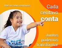 Campanha Centavos que ajudam - APAE Serra Talhada-PE
