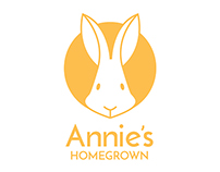 Annie's Homegrown Rebrand