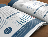Corporate Bi-Fold Anual Report