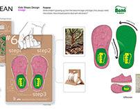 Kid footwear design