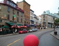 The Little Red Ball visits La Vieille Capitale (Part 1)