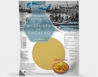 Packaging Ajoarriero de Bacalao - Angomar
