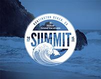 Hilton Grand Vacations Club 2015 Summit Logo & Poster
