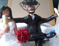 ciclo#01_os noivos  #1cycle_wedding toppers