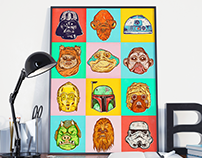 Helmets, Creatures & Droids! Oh My!