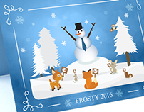 Frosty 2016 Card / DSPolitical